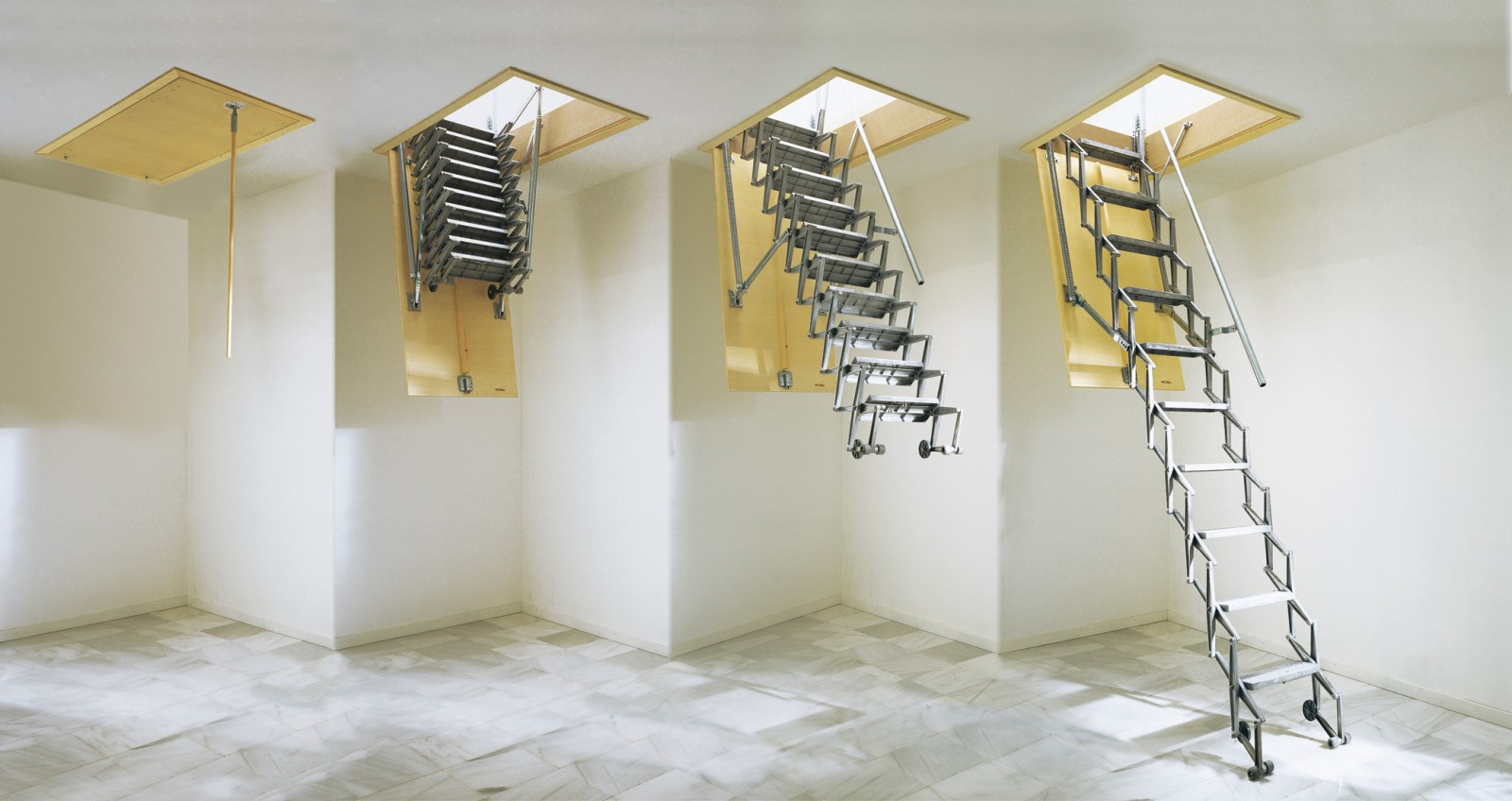Estfeller creates access - Porta per soffitta ...